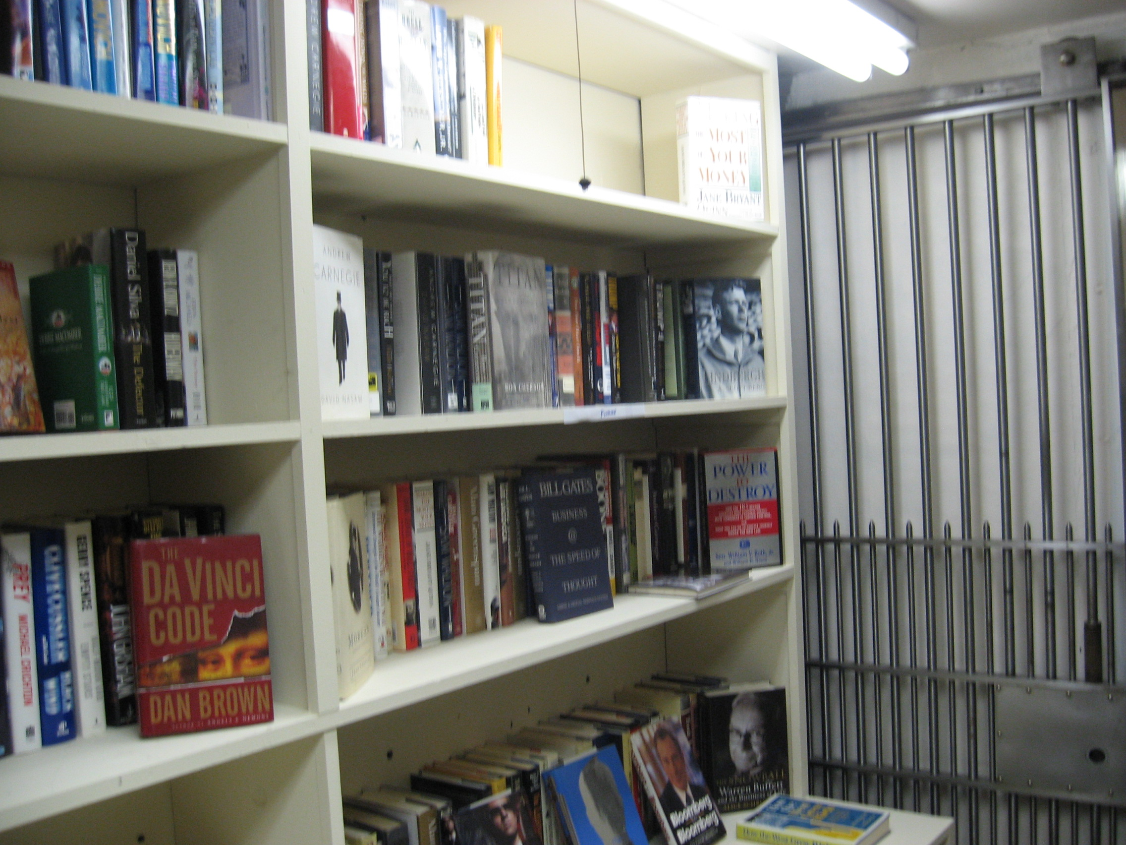 Books in the Vault